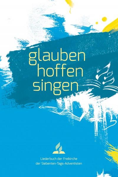 Liederbuch glauben-hoffen-singen (Softcover blau)