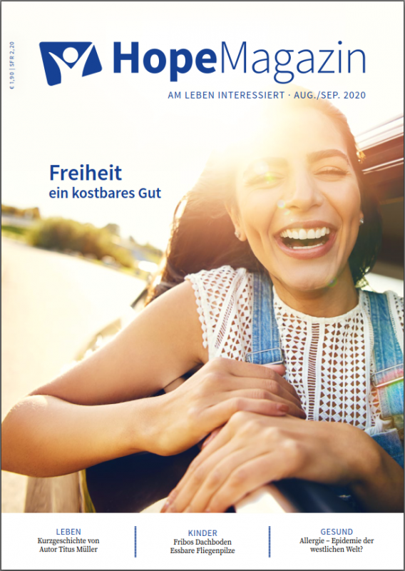 Hope_Magazin_2020_4_Freiheit_Cover