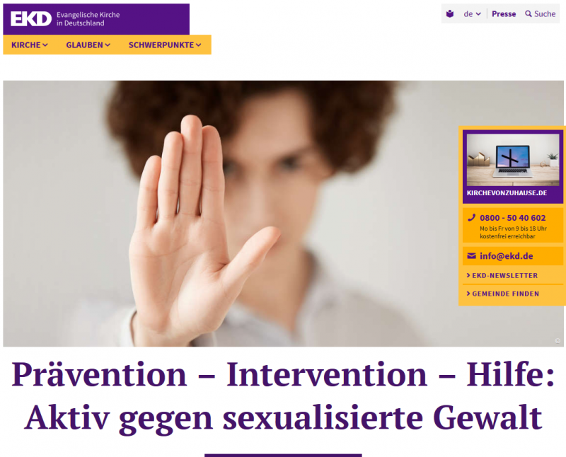 EKD_SexualisierteGewalt_Beirat_Screenshot