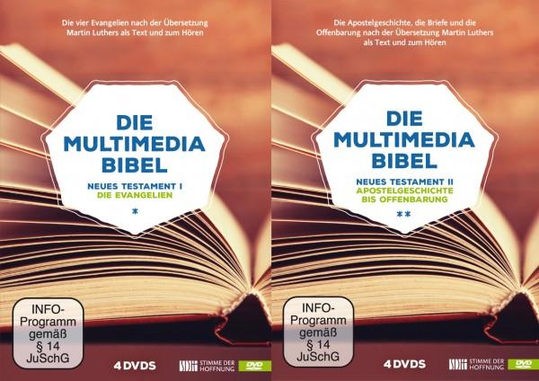 Multimediabibel – Neues Testament I+II (8 DVDs)