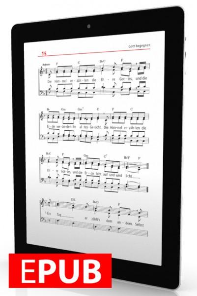 Liederbuch glauben-hoffen-singen (Digitalausgabe)