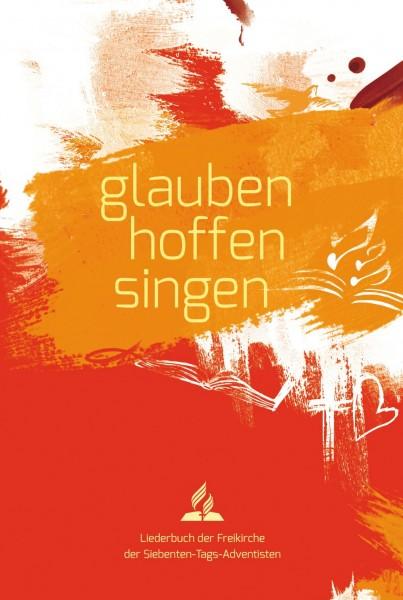 Liederbuch glauben-hoffen-singen (Softcover rot)