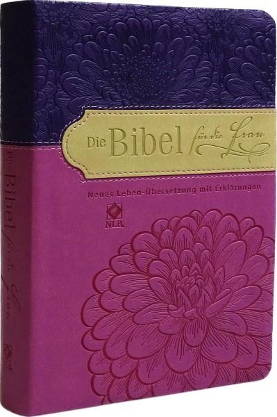 Die Bibel für die Frau (violett/fuchsia)