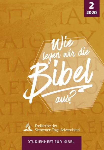 Studienheft zur Bibel 2/2020