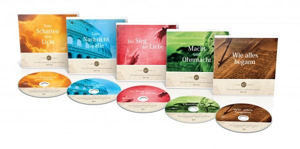 Die Geschichte der Hoffnung (11 mp3-CDs - Serie 1-5)