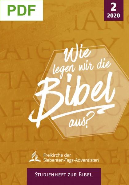 Studienheft zur Bibel 2020/2 (PDF)