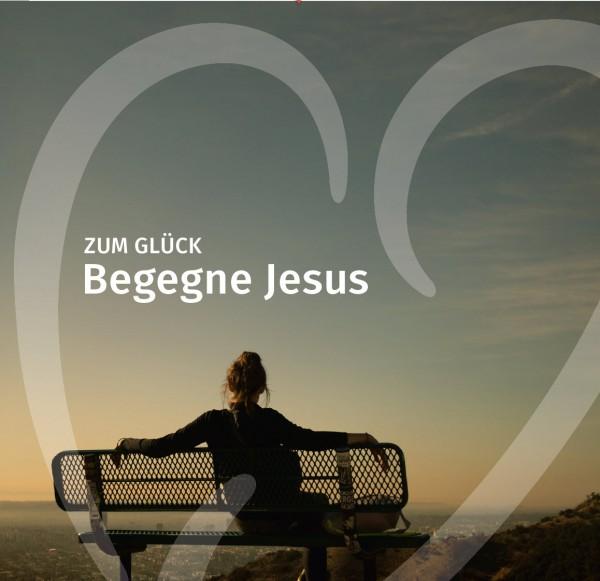 """Verteilheft """"Begegne Jesus"""""""