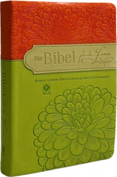Die Bibel für die Frau (orange/hellgrün)
