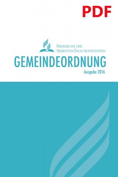 Gemeindeordnung 2016 (PDF)