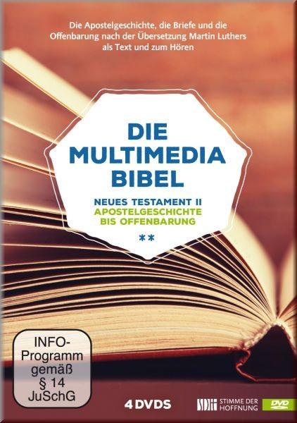 Multimediabibel – Neues Testament II (4 DVDs)