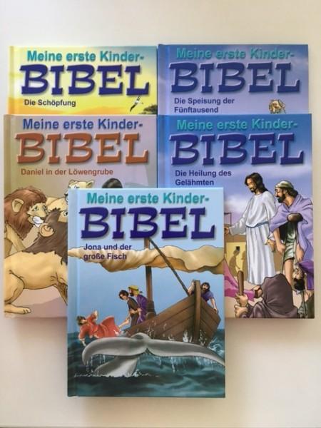 Meine erste Kinder-Bibel – Bd. 1-5