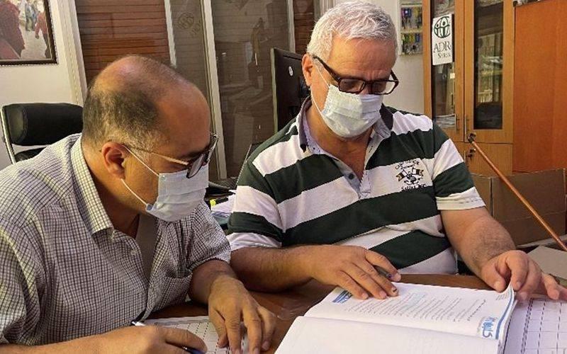 ADRA-Syrien-Mitarbeiter