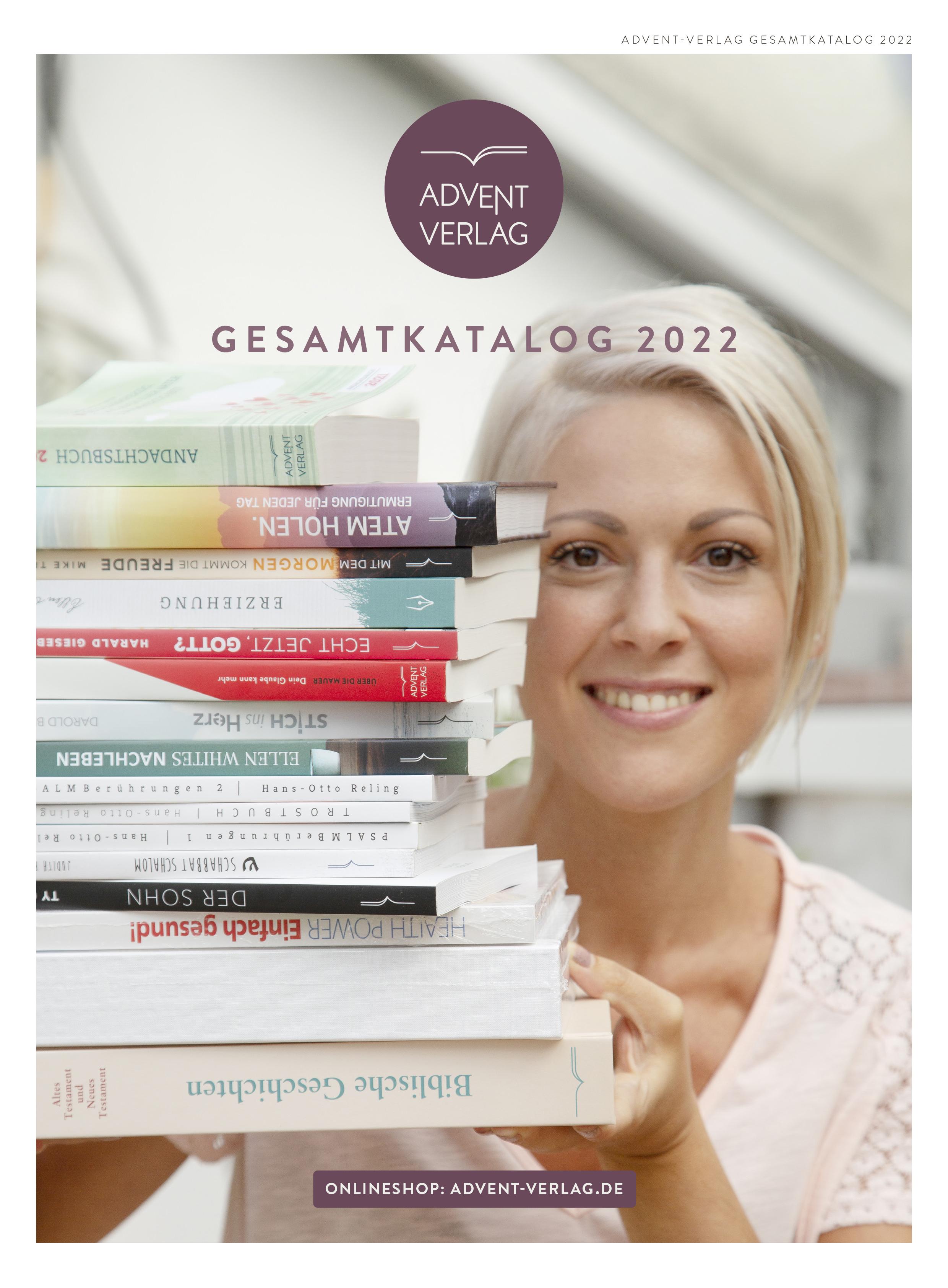 Cover des Gesamtkatalogs des Advent-Verlags