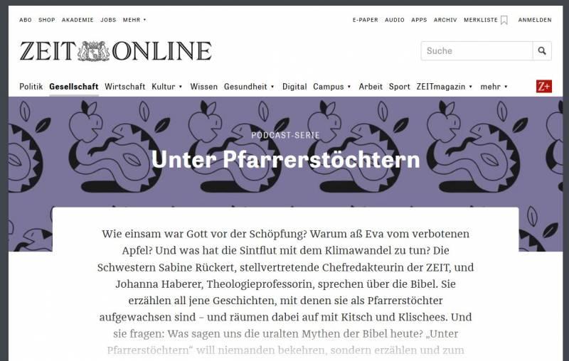 ZEIT_Online_UnterPfarrerstoechtern_Screenshot