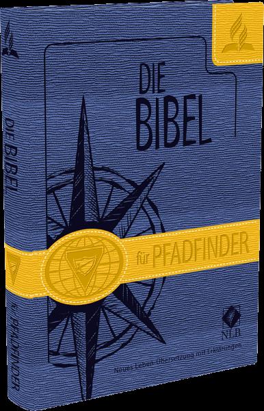 Pfadfinderbibel (blau-gelb)