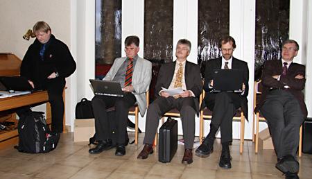 Sitzung Kirchenleitung Dezember 2009