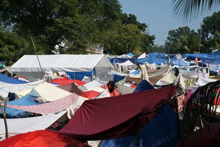 Haiti Zeltstadt