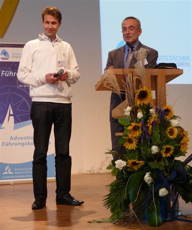 Atte Helminen und Roland Fischer