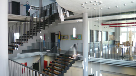 Gebäude Zürich innen