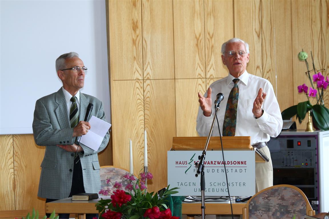 Herbert Pfeiffer und Norbert Muckle