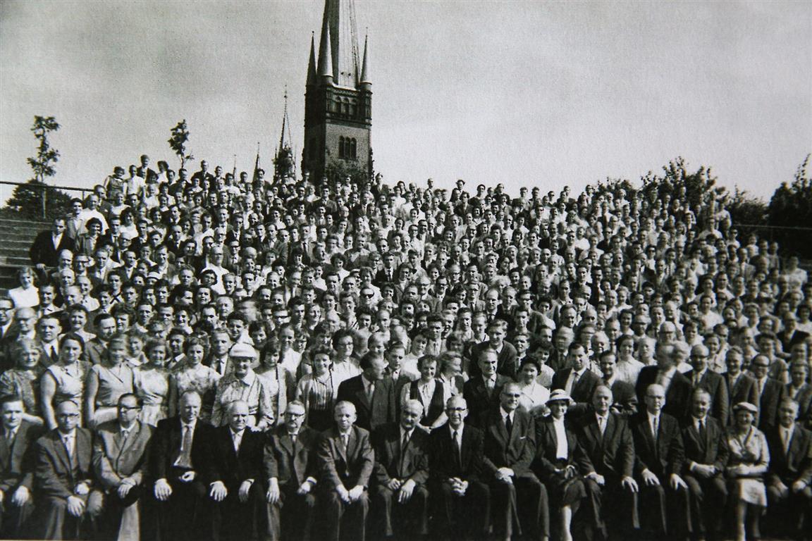 Gruppenfoto 1958