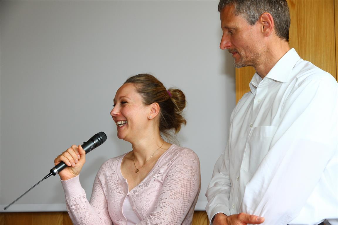 Roland und Marcela Röhner